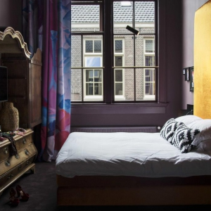 Spectaculair designinterieur Boutiquehotel STAATS, Haarlem