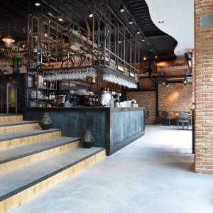 Tough bar in Jupiler style for Cornelis Bar & Kitchen Rotterdam