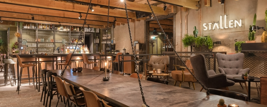 PRESS RELEASE  INDUSTRIAL MARKET INTERIOR FOR RESTAURANT DE STALLEN, PURMEREND