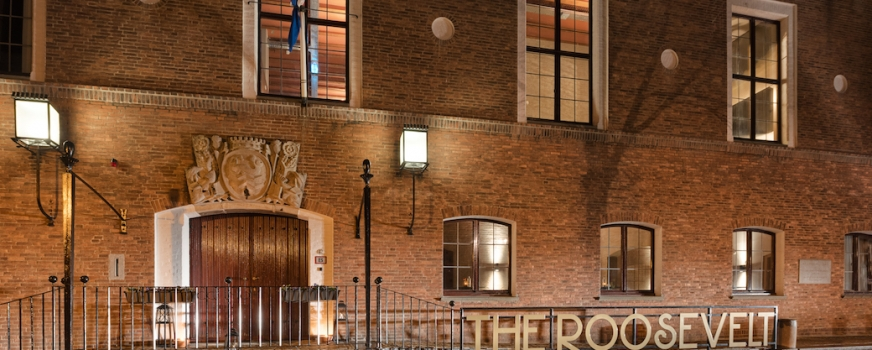 PRESS RELEASE:   NEW BOUTIQUE HOTEL THE ROOSEVELT BY ESTIDA