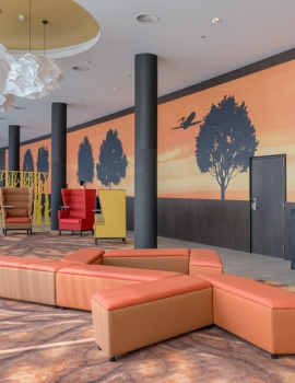 Flexibel hotelinterieur door soft renovation; Park Plaza Amsterdam