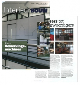 INTERIEURBOUW| APRIL 2016